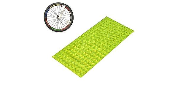 Hilai 1pc Bicicleta Pegatina Ciclismo Llantas Reflectantes Cinta para Bicicleta de montaña Marco de Rueda Bicicleta Llantas de Bicicleta Ruedas Reflectantes ...