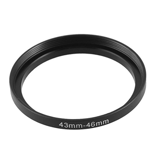 uxcell Replacement 43mm-46mm Camera Metal Filter Step Up Ring Adapter ()