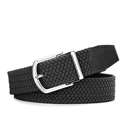 Men's Gift- Premium Durable Braided Belts for Men with Quick Release Buckle (Hand Belt Buckle)