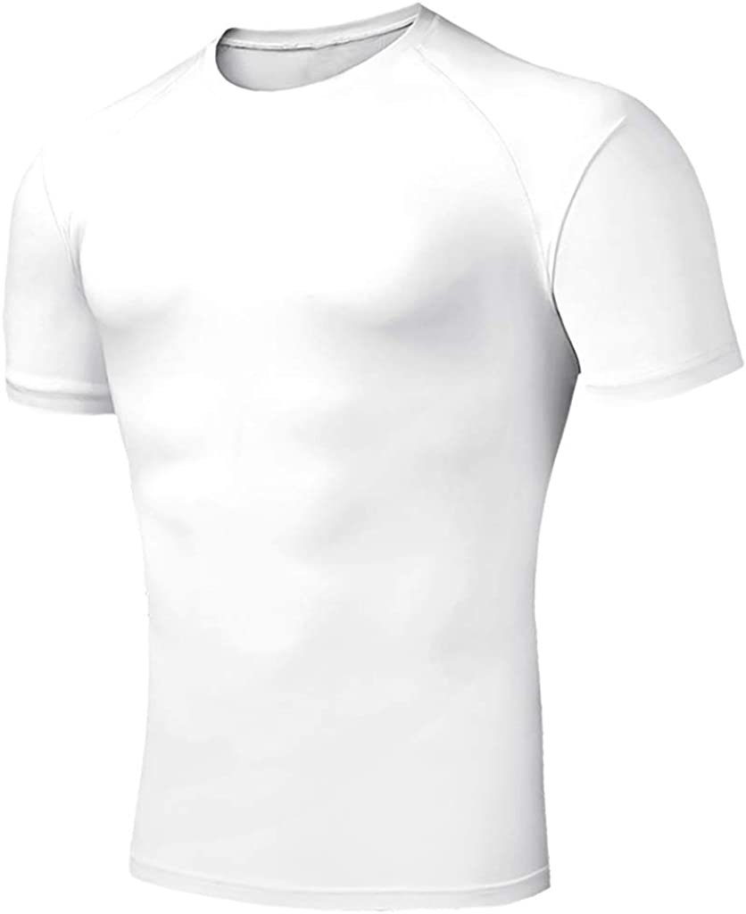 Mens Casual Slim Fit Solid Color Short Sleeve T Shirt Colmkley Tops Blouse