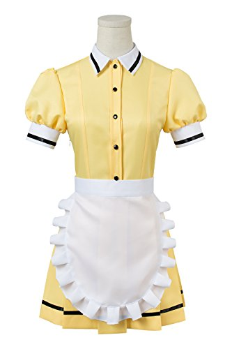 Newhui Blend S Hideri MIU Mafuyu Maika Kaho Cosplay Costume Maid Suit Dress Uniform ()