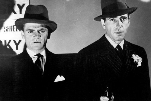 James Cagney Humphrey Bogart classic gangster The Roaring Tw