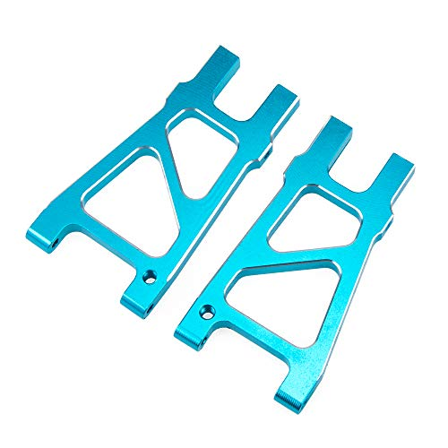 (Rear Lower Suspension Arm 2-Pack for RC 1/10 HSP Model Car Hop-up RC Spare Parts Monster Truck 188021 Off Road Buggy, Cojoys)