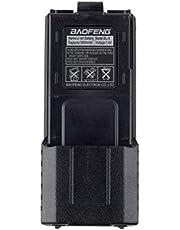 Voor Baofeng Bl-5L 3800 Mah 7.4 V Uitgebreide Li-Ion Batterij Voor Baofeng Uv-5R Radio Zwart
