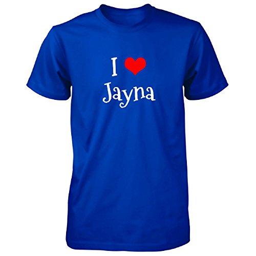 JTshirt.com-4308-I Love Jayna. Funny Gift - Unisex Tshirt-B01M0BTUTG-T Shirt Design