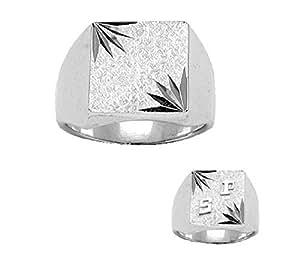 3a8b8a49cfe3 Helios Bijoux - Sello de plata para hombre
