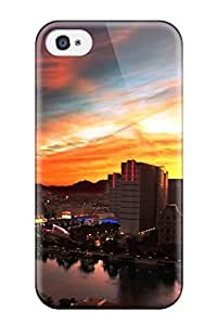 4/4s Scratch-proof Protection Case Cover For Iphone/ Hot Tokyo City Phone Case