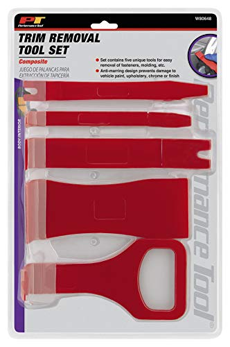 Performance Tool W80648 Composite Trim Removal Tool Kits For Fasterners, Molding and More