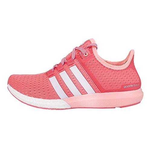 Adidas Women's CC Gazelle Boost W, PINK/WHITE, 7.5 US
