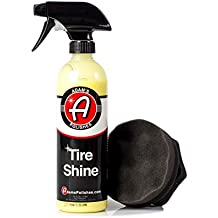 Adam's Tire Shine - Achieve a Lustrous, Dark, Long Lasting Shine - Non-Greasy and No Sling Formulation (Combo)