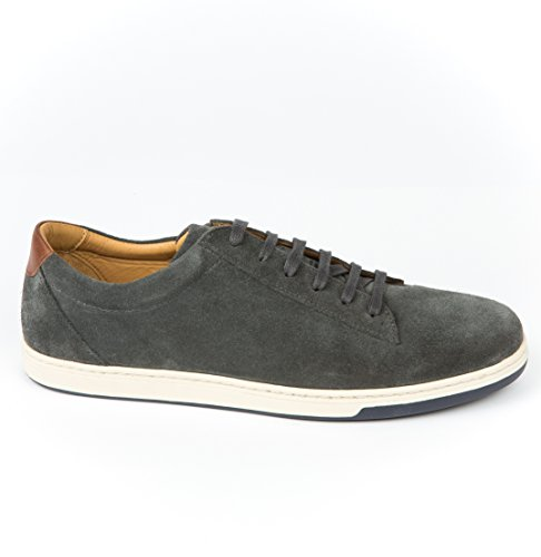 Austen Heller Mens Suede Sampsons Sneaker Grey WtC8uCpou
