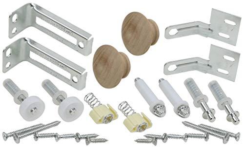 Bi-Fold Door Hardware Repair & Replacement Kit, 2-Pack