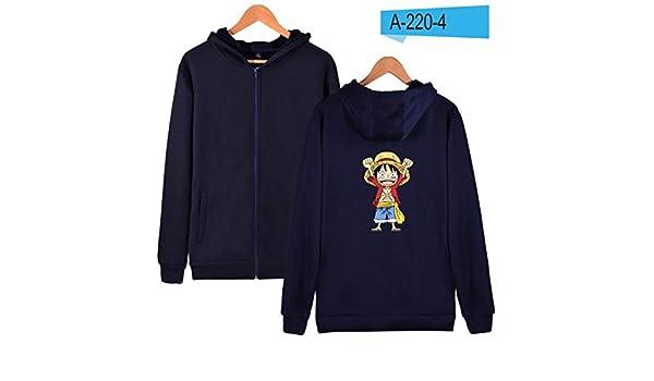 Amazon.com: FLAMINGO_STORE Mens Hoodies Sweatshirts Cartoon Coat Anime Hoodies Mens Zipper Luffy Clothes: Clothing