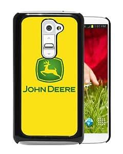 Personalized LG G2 With John Deere logo 4 Black Customized Photo Design LG G2 Phone Case
