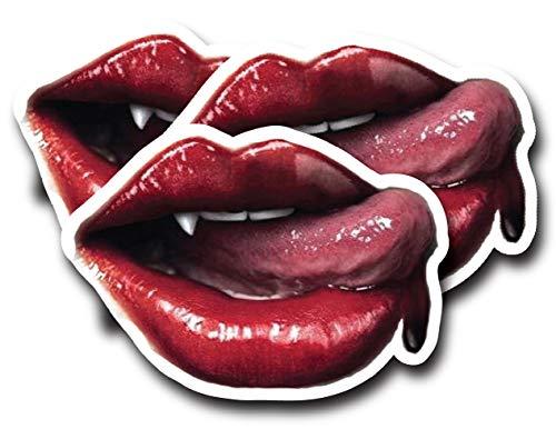 Sexy Vampire Lips GIF Sticker [ 3.5
