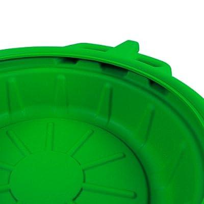 Capri Tools CP21023 Portable Oil Drain Pan, Anti-Freeze, Green: Home Improvement