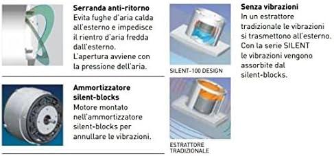 s /& p Silent-100/Design/ /Extractor Bano Silent-100/CRZ Design-3//°C