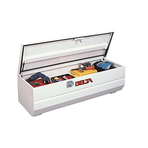 Delta 807000 White Full Size Steel Chest for Trucks - Chest Delta Truck