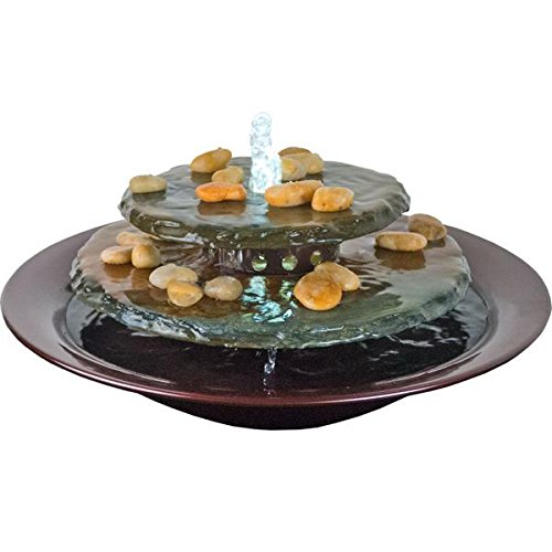 Water Wonders Tranquility Pool Round Wall Water Fountain