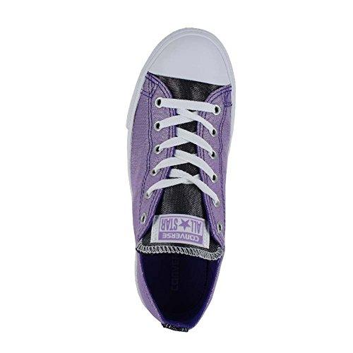 Converse Kids Chuck Taylor All Star OX (Little Big) Frozen Lilac Candy Grape