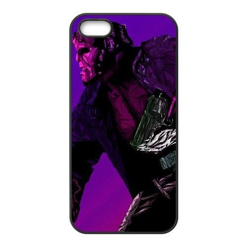 Y0H44 Heelboy Art V6N6VR iPhone 4 4S Handy-Fall Hülle schwarz DL1OUD6LE decken