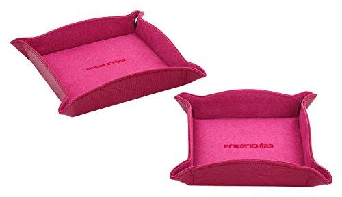 Friedrich|23 Unisex-Schmucktablett Flash Taschenleerer Kunststoff pink - 20082-9