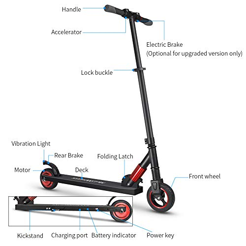 Chengstore Folding Electric Scooters Kids Adults Fashion Popular