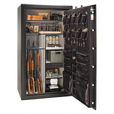 Gun Safe Black/Chrome 1/2 hr Fire Rate