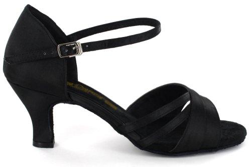 AlmaDanza Womens Latin Dance Shoes A268612 Heel 2.2