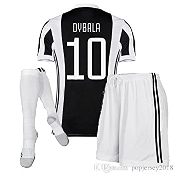 adids Maillot pour Enfant Juventus Turin + Short + Chaussettes - Taille10  Ans - Dybala n 0ae24c632f90