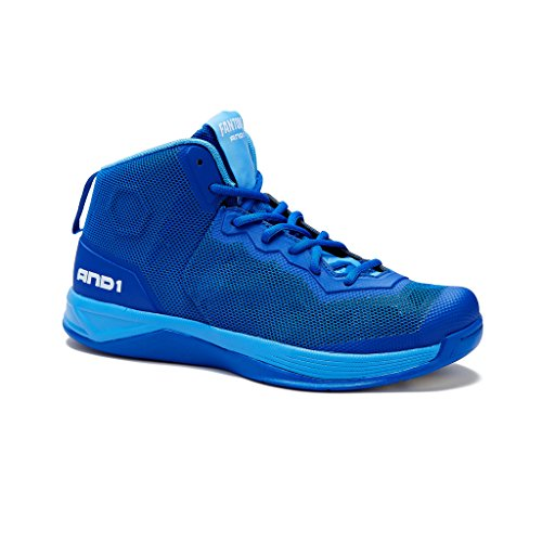 And1 Heren Fantom Basketbalschoen Royal-blue