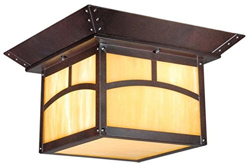 Vaxcel Mission Outdoor Ceiling Light in US - 3
