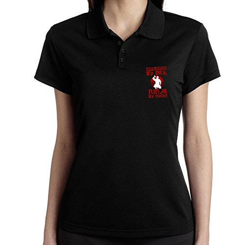 Teeburon Physician Assistant by day, ninja by night Polo Donna