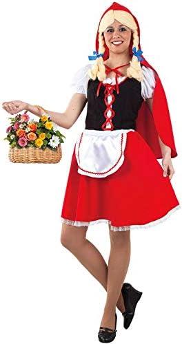 DISBACANAL Disfraz Caperucita roja para Mujer - -, S: Amazon.es ...