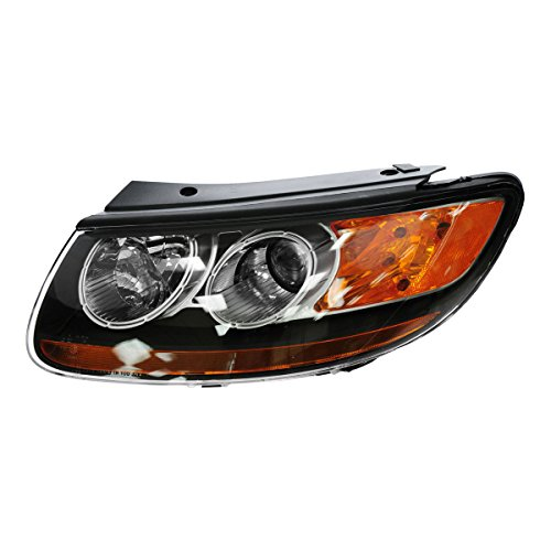 Headlight Headlamp Driver Side Left Hand LH LF for 07-09 Santa - Santa Fe Hyundai Headlight Headlamp