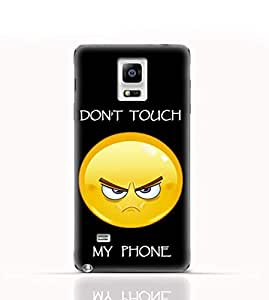 Samsung Galaxy Note Edge N9150 TPU Silicone Case with with Dont Touch My Phone 1 Design