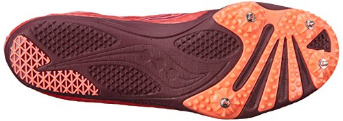 Saucony Women's Endorphin Spike Shoe Berry/Coral JQMd1Nn