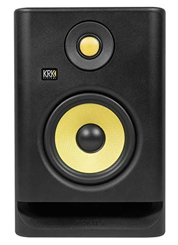 "(2) KRK RP5-G4 Rokit Powered 5"" Powered Studio Monitors+Stands+Isolation Pads"