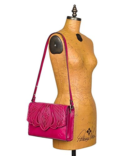 Nash Cross Pink Santillana Patricia Tooled Body Collection Burnished XPdAwqS7