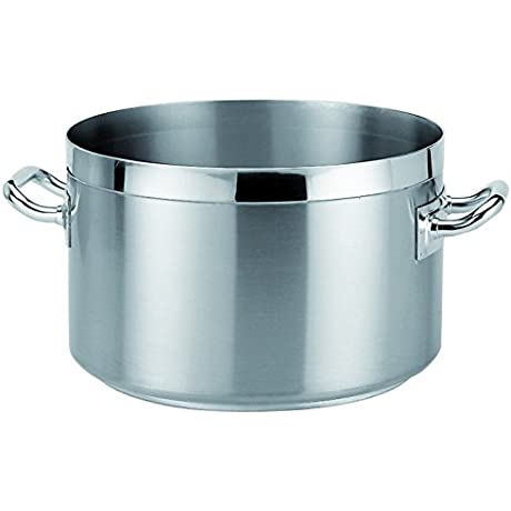 Piazza PA 090436 Stainless Steel Five Star Stockpot 22 5 Liter