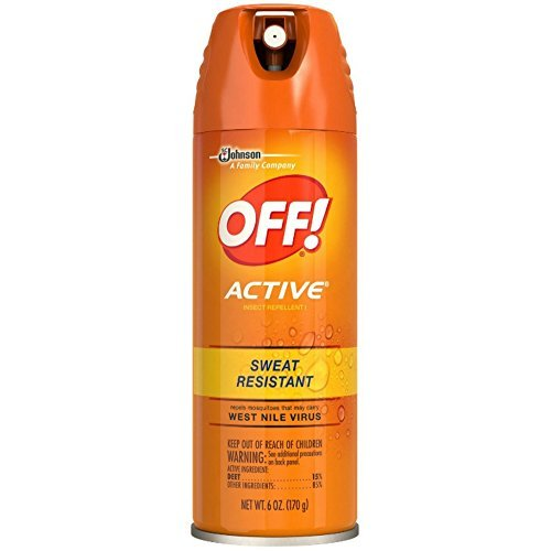 OFF!! Active Insect Repellent, Sweat Resi Resistant 6 Oz (Pack of 3) by OFF!