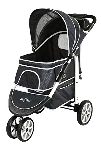 Gen7Pets Premium Monaco Stroller for Dogs and Cats up to 60lbs – Lightweight, All-Terrain and Portable