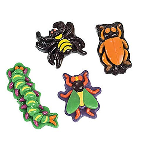 Gummy Bugs And Insects, Halloween Candy, Realistic, Halloween, 46 Pieces for $<!--$17.00-->