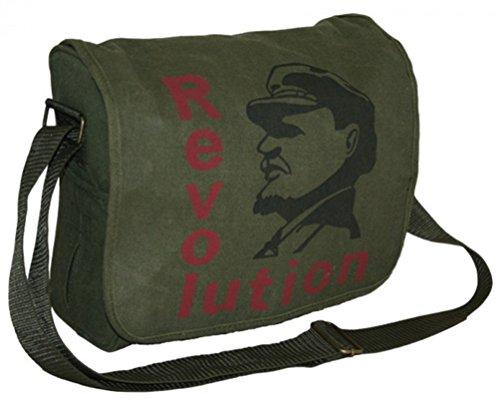 Highlander Revolution tascapane Oliva