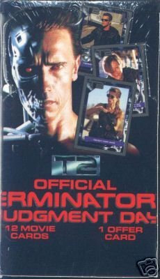 Official Terminator 2 Judgement Day Movie Trading Cards Sealed Box of Packages (Card Box Set Trading)