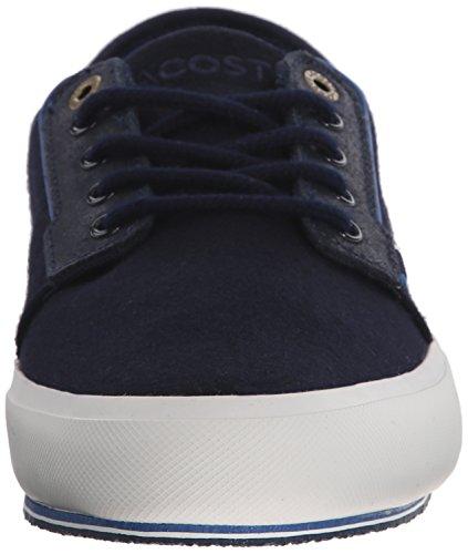 Lacoste Herre Saulieu Chunky Mote Sneaker Navy