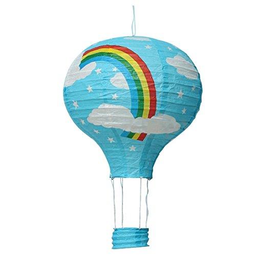 TOOGOOR-12inch-Hot-Air-Balloon-Paper-Lantern-Lampshade-Ceiling-Light-Wedding-Party-Decor-Blue-Rainbow