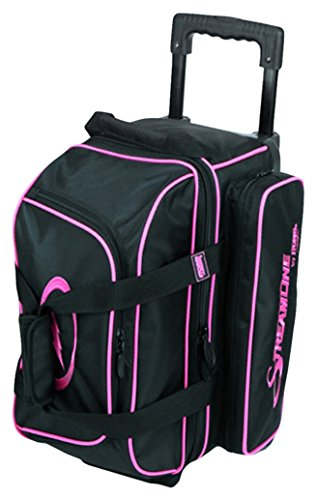 Storm Streamline 2 Ball Roller Bowling Bag Black/Pink