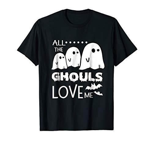 Funny Halloween Ghost Shirt for Little Boy Toddler Baby Girl -