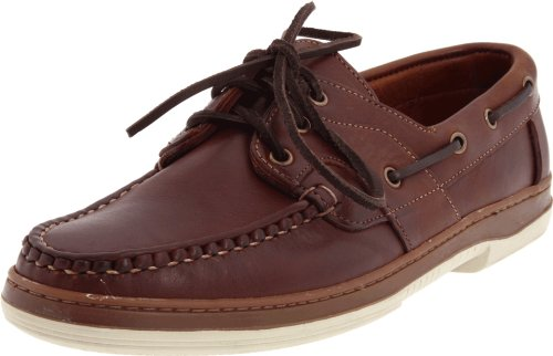 Allen Edmonds Men's Eastport Boat Shoe,Brown,11 E